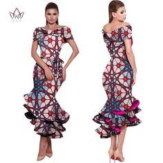 Free shipping by Epacket ,usually it will take 7~21 days to deliver..Check out your size below in INCH or CM Ankara dress ,Ankara Gown, Dashiki Dress, African bazin Dress, African Styles,African fashion,African Fabric,African Clothing 1. Item color displayed in photos maybe showing slightly different on your computer m