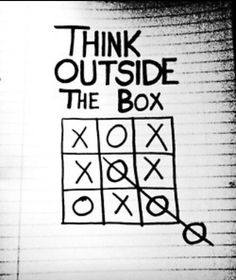 Thinking outside the box...