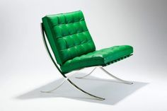 Barcelona-Chair....who knew it came in this color!