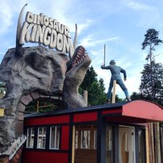 Dinosaur Kingdom II has officially opened for business and is located at 5781 S. Lee Highway Natural Bridge, Virginia.