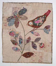 Mandy Pattullo's bird on foliage