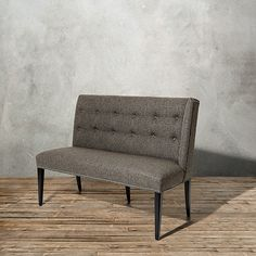 """Pike 51"""" Upholstered Right Arm Settee"""
