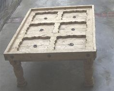 Coffee Tables And Old Doors…. | Fabulously Finished