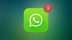 Nueva interfaz de @whatsapp en iOS 7