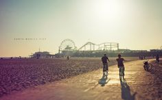Santa Monica Pier. @lisakthrives