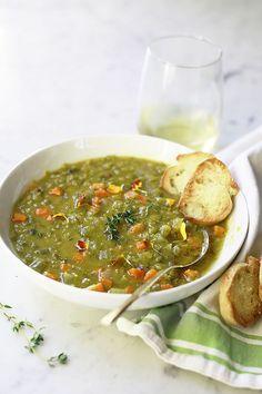 Slow Cooker Split Pea Soupcountryliving