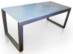 Glass Table MAZA - Gonzalo De Salas
