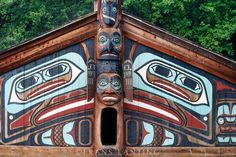 9a7036c7b7d5d11205100143df375f2c--native-american-art-native-art Pacific Northwest Indians Plank Houses on cedar plank house, northwest coast plank house, tlingit plank house, pacific northwest coast tlingit,