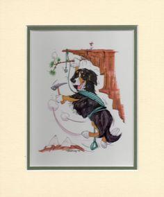 Mini-Print-Bernese-Mountain-Dog-by-Mike-McCartney