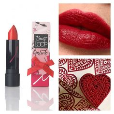 """In our minds nothing compares to a classic red lipstick 💋💋💋 Shade """"too much"""" will brighten up any complexion. Red Lipstick Shades, Matte Lipstick, Red Lipsticks, School Makeup, Instagram Feed, Make Up, Velvet, Classic, Beauty"""