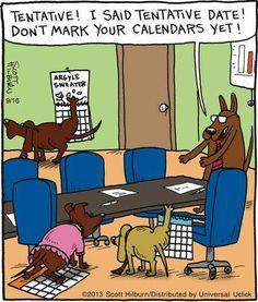 Dogs Board Meeting | Comic Strip