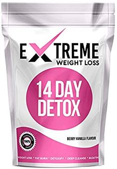 Extreme 14 Day Botanical Tea (Berry Vanilla Flavour) - Compatible with Diet Plans 14 Day Detox, Uk Health, Vanilla Flavoring, Diet Plans, Cleanse, Berry, Lemon, Weight Loss, Personal Care