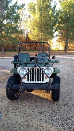 1946 Willys CJ-2A - Photo submitted by Ron Eubanks.