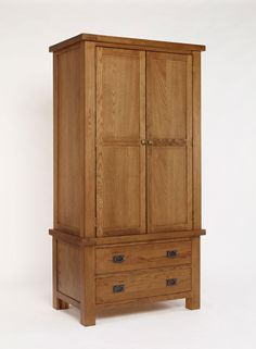 Brooklyn Rustic Oak Single Wardrobe has a rich appearance with solid acacia, used for the inside of cabinets which give them an incredibly robust structure. #Furniture #Bedroom #BedroomFurniture #PriceCrashFurniture #Brooklyn #Oak #Wardrobe http://pricecrashfurniture.co.uk/brooklyn-rustic-oak-single-wardrobe.html