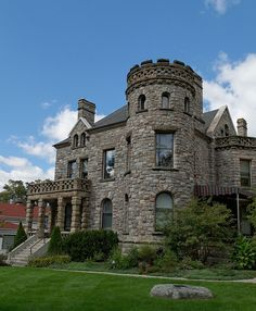 """""""The Castle,"""" Heritage Hill district, Grand Rapids, MI 