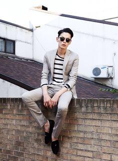 bangarangblog:  suits & stripes