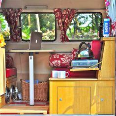 Virginia - Belle Vie Campers, classic vw camper hire in France, based in Biscarrosse