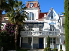 Typical Portuguese huis. Cascais