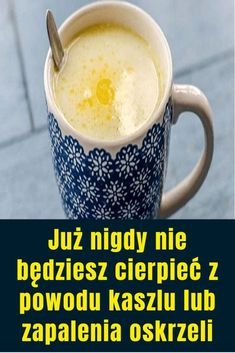 Już nigdy nie będziesz cierpieć z powodu kaszlu lub zapalenia oskrzeli Health And Beauty, Natural Remedies, Latte, Detox, Meals, Drinks, Healthy, Tableware, Food