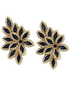 Into the blue: Always in bloom, these earrings are a pretty pick her style year-round