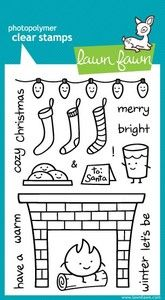 *Lawn Fawn COZY CHRISTMAS Clear Stamps - $14.99