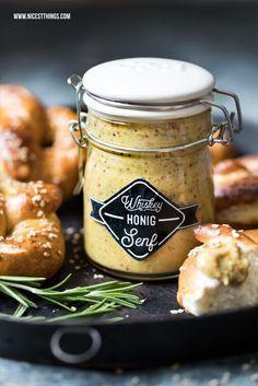Whisky-Honig-Senf Rezept für suessen Senf mit Whiskey