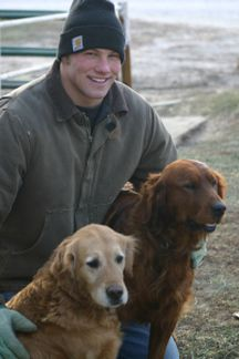 Snitker Goldens Founding Couple