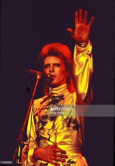 David Bowie performs as Ziggy Stardust, 1973 ? Chris Walter
