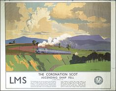 Image detail for -Coronation Scot' was the flagship train of the London Midland and ...