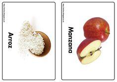 Arroz y manzana