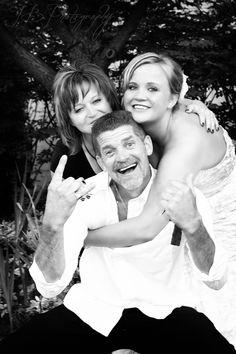 Bride with Mom & Dad
