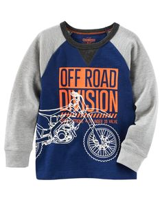 Kid Boy Glow-in-the-dark Raglan Tee from OshKosh B'gosh. Shop clothing & accessories from a trusted name in kids, toddlers, and baby clothes.