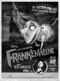 Holocrn: Trailer de Frankenweenie al estilo del terror clásico
