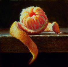 Small Oil Paintings: Blood Orange No.2- SOLD