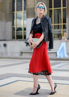 Couture Street Style - #SofieValkiers : Gosh! Want! (except the shoes that I hate. Sorry Christian...I have a problem with this kind of heels.....they aren't allowed in my wardrobe. I'm more classic and classy.....at least for the time being. Old school, what can I say?!)