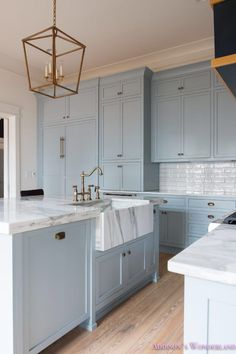 Cabinet Color: 1/2 Stardew & 1/2 Uncertain Gray by Sherwin Williams