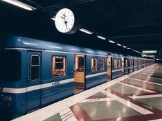Metro / Subway / Underground. Stockholm, Sweden. www.500px.com/karimtaib Metro Subway, Stockholm Sweden, Apocalypse, Finland, Denmark, Cali, Norway, Wander, Snow