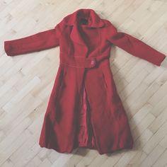 Zara Jacket Nice wool jacket! Keeps you nice and warm! Zara Jackets & Coats