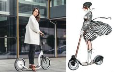 smartped-- Smart Ped electric assist scooter is a great new multimodal alternative Lloyd Alter Lloyd Alter (@lloydalter) Transportation / Bikes October 15, 2015