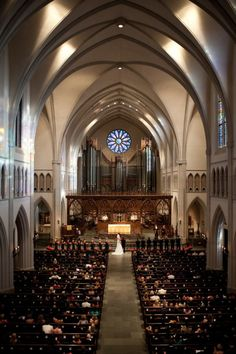 Houston Wedding from Chris Bailey Photography and Keely Thorne Events - St. Martin's Episcopal Church