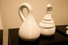 """Peter Weibel """"Scanned sculptures"""" (2013),  Artelier Contemporary Graz Art Fair, Vienna, Contemporary Art, Sculptures, Vase, Graz, Vases, Modern Art, Contemporary Artwork"""