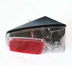 "Product review for Red 1 LED Light Back with Reflector Plastic Shell Easy to Install on the Mudguard of the Bike Suitable for Any Bike for Safety Warning - From selling lights to selling ""light"", JueShuai helps you break the dark and cycle safely! Worry about illegal riding? We offer a solution! This LED tail lamp has one red LED and a tilted reflector. The light range is 25-35 feet. Be great suitable for day and night cycling or other..."
