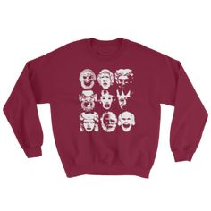 Tragedy - Crewneck Sweatshirts Red
