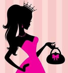 Elena's is a family owned and operated business located in Woodburn, OR and online! All of our pins are from our website and link right to it to ease your shopping experience! Princess Silhouette, Silhouette Clip Art, Barbie Birthday, Barbie Party, Chanel Art, Love Painting, Easy Drawings, Girly Girl, Art Girl