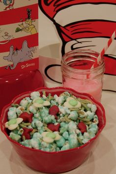 Dr Seuss Snack Mix and other Seuss activities!