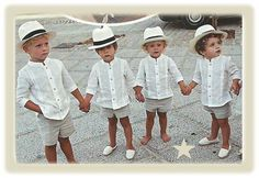 wedding kids ♡ beach wedding - for Tommy? Follow me please http://www.pinterest.com/holemole21/my-perfect-wedding-in-fiji/