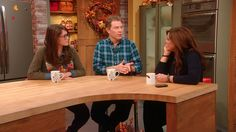Bobby's Guest to the Show: His Daughter Sophie Flay | Rachael Ray Show. Click the photo to watch the video on her website. There are 2 parts to it. It's really cute!