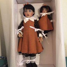 "12"" Olivia and 6"" Effie #82 Handpainted Helen Kish Dolls #Dolls. SOLD for $219.50 on 2/1/15"