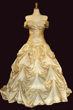 Belle wedding dress! <3 - this is the most accurate one I've seen yet. gorgeous