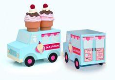 Ice Cream Funday Party cone holder